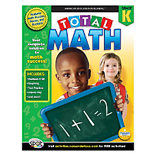 Carson Dellosa Publishing Total Math Book