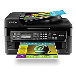 Epson® WorkForce® WF-2540 All-in-One Printer, Copier, Scanner, Fax