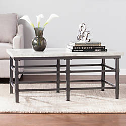 Southern Enterprises Tulane Cocktail Table Rectangular