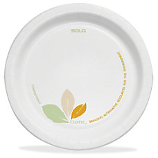 Bare Table Ware 6 Diameter Plate