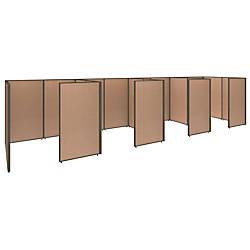 Bush Business Furniture ProPanels 4 Person