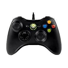 Xbox 360 Wired Controller Black