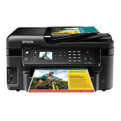 Epson® WorkForce® WF-3520 All-in-One Printer, Copier, Scanner, Fax