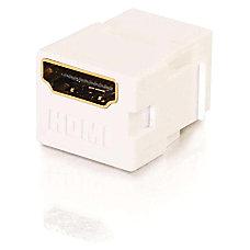 C2G Snap In HDMI FF Keystone