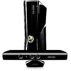 Microsoft Xbox 360 4GB Console and Kinect Bundle
