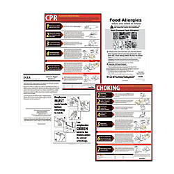 ComplyRight State Restaurant Poster Kit English