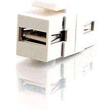 C2G Snap In USB AA Female