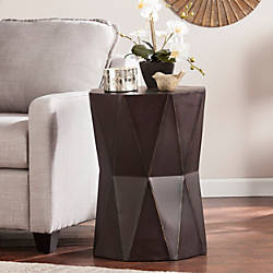 Southern Enterprises Tremont Accent Table Polygonal