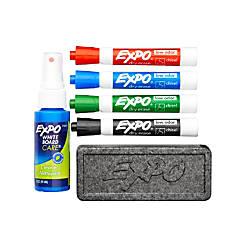 EXPO Dry Erase Starter Kit Chisel