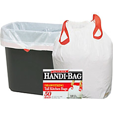 Webster 50percent Recycled Drawstring Trash Bags
