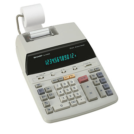 Product Description An economical pocket calculator that fits easily in your briefcase or.