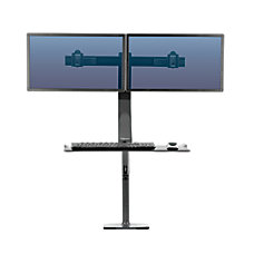 Fellowes Extend SitStand Dual Monitor Mount