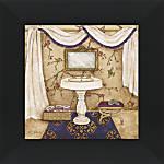 Crystal Art Purple Passion Sink Artwork