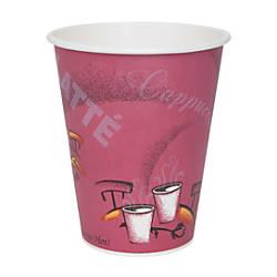 Solo Bistro Design Disposable Paper Cups