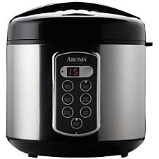 Aroma Professional 20 Cup Cooked Digital