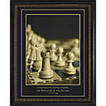 INSPIRED BY TRUMP Chess Framed Poster