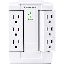 CyberPower CSB600WS Essential 6 Outlets Surge