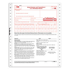 ComplyRight 1096 Tax Forms Continuous 2