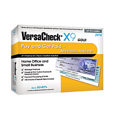 VersaCheck X9 Gold 2016 For 3