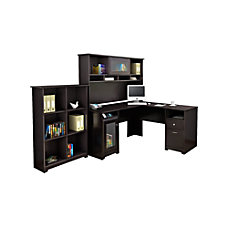 Bush Furniture Cabot L Desk With
