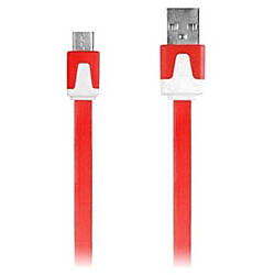 iEssentials 33ft Micro USB Flat Colored