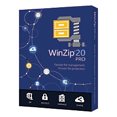 Corel WinZip 20 Pro Traditional Disc