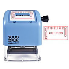 2000 PLUS Self Inking Easy Select