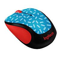 Logitech Party Collection M325c Wireless Optical Mouse (Memphis Blue)