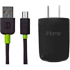 iHome Micro USB Wall Charger