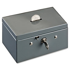 MMF Steelmaster 221533001 Cash Box Steel