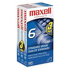 Maxell Standard Grade VHS Videocassette