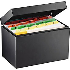 Steelmaster All Steel Card File Box