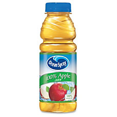 Ocean Spray Bottled Apple Juice Apple