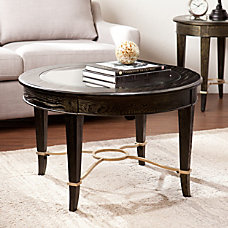 Southern Enterprises Cheswick Cocktail Table Round