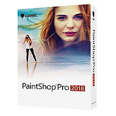 Corel Paintshop Pro 2018 Traditional Disc