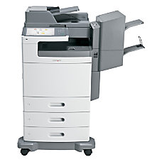Lexmark X792DTPE Color Laser All In
