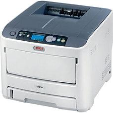 Oki Data C610CDN Color Laser Printer