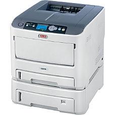 Oki Data C610DTN Color Laser Printer