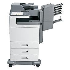 Lexmark X792DTME Laser Multifunction Printer Color