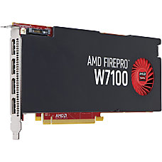 HP FirePro W7100 Graphic Card 8