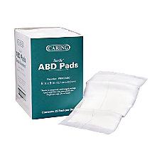 Medline Abdominal Pads Sterile 5 x