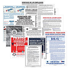 ComplyRight Federal Contractor Posters Bundle Spanish