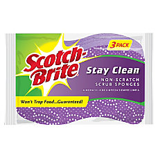 Scotch Brite Stay Clean Non Scratch