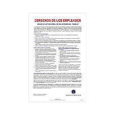 ComplyRight Federal Contractor Posters Spanish National