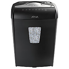 Ativa 8 Sheet Microcut Shredder 08MA01