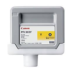 Canon PFI 303Y Yellow Ink Cartridge
