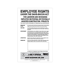 ComplyRight Federal Contractor Posters English Davis