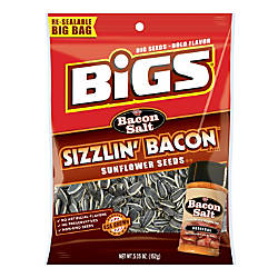 Bigs Sunflower Seeds Bacon Salt Sizzlin