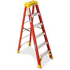 Werner Fiberglass Step Ladder 300 Lb