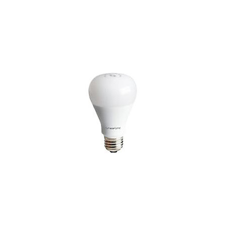 nortek lb60z 1 z wave dimmable led light bulb by office depot. Black Bedroom Furniture Sets. Home Design Ideas